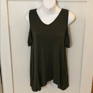 Other - Army Green Girls Shirt 14-16